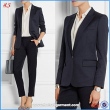 Professional Supplier Wholesale Custom Fancy Ladies Suits / Pictures of Ladies Suits Designs Elegant Office Wear