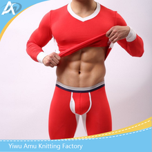 High Quality 100% Cotton Warmer Men's Heated thick Thermal Underwear