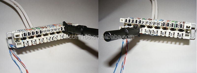 telephone wire connector blocks wire center u2022 rh masinisa co Telephone Cable Connector Telephone Jacks and Connectors