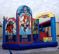 Purchase Chinee Custom Made Justice League Bouncy Bouncy Funny Air Blown Inflatables