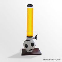 From GMTlight 2.5L Plastic Football Shape Beer Tower