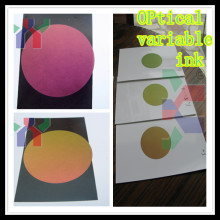 anti-forgery color shifting ink/Optical Variable