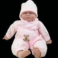 Fashion Dolls,44cm Sleeping Baby Doll