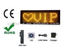 LED famous Brand signs ,KTV used led name card , Bar used led waiters name card(Direct Manufacturer)