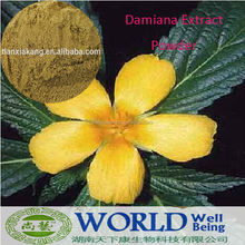 Chinese Herbal Sex Medicine/High Quality Damiana Leaf Extract/Damiana powder