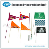 High Quality Bicycle safety flag Bike flag Safety flags for bicycles