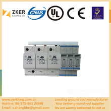 Three Phase Spd Lightning Power Supply Voltage protector surge protective device