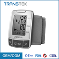 Portable streamline design wrist blood pressure monitor, OEM / ODM welcome