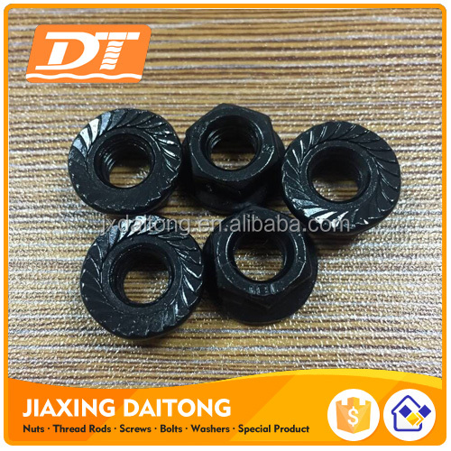 DIN6923 Hex Flange nuts SUS304 Grade 4.8/ 8.8/ 10.9/ 12.9 <strong>M10</strong> plain