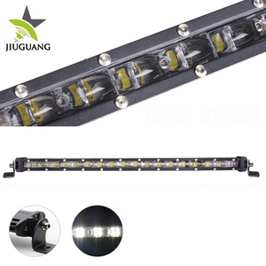 China 30w 60w 90w 120w 150w 180w 210w 240w IP69K Truck Slim Single Row Led Light Bar
