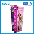 wholesale new design sexy bras and underwear hooks cardboard display stand