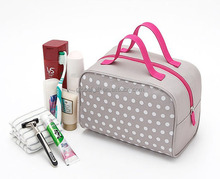 Korean large capacity cosmetic bag organizer tas kosmetik