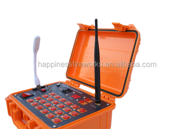 Happiness new product 96 cues 500M wireless remote control fireworks firing system