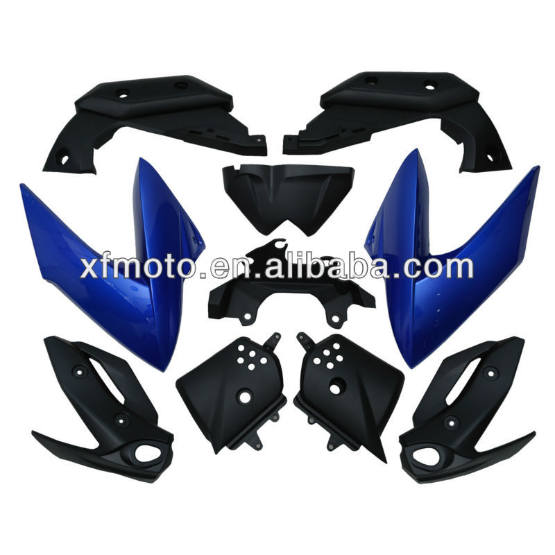 Blue Bodywork ABS Plastic Fairing Cowl kit Wholesale For Yamaha XJ6 2009-2012 2011 2010