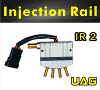 CNG LPG Fuel Injector Rail for Injection Sequential kits