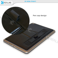 Hot selling tablet pc back cover tpu case for apple ipad air 2
