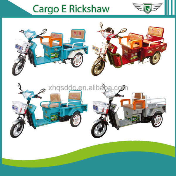 2015 New design electric powered motorcycle Multifunctional enclosed electric tricycle