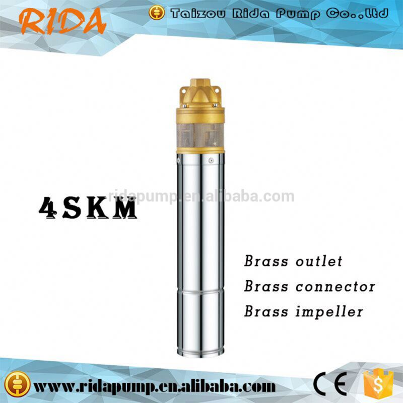 2016 Taizhou Rida 4SKM copper head submersible water pump 1hp <strong>diesel</strong>