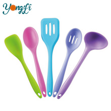 Free Samples Colorful Food Grade Kitchen Silicone Egg Turner Shovel Custom Name of Stainless Steel Silicone Kitchen Tools