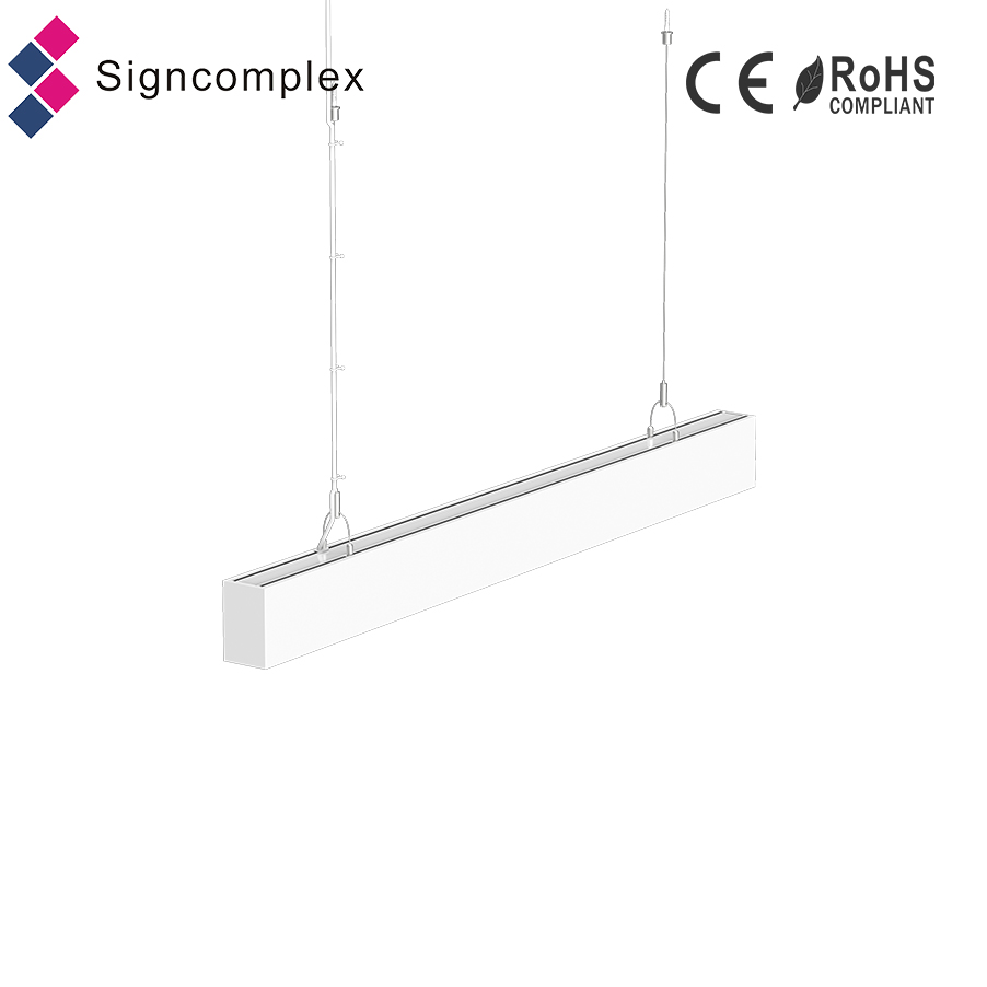 UL DLC CUL SAA listed 30w 40w 50w 80w LED linear light for healthcare facility food processing facility retail and parking