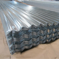 0.36*800mm DX51D+Z80 Building Material Corrugated Galvanized Steel Roofing Sheet
