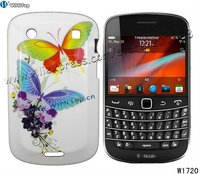 Color Printing Hard Case for Blackberry Bold 9900 9930.Butterfly Printing Case For BB9900