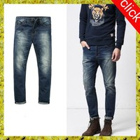 mens funky jeans wash pants made in China 100% cotton rock brand wholesale cheap jeans for mens