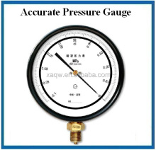 stainless steel bourdon tube high accuracy calibration standard pressure gauge