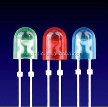 LED diode,light emitting diode.3mm concave LED .round blue led,5mm round led