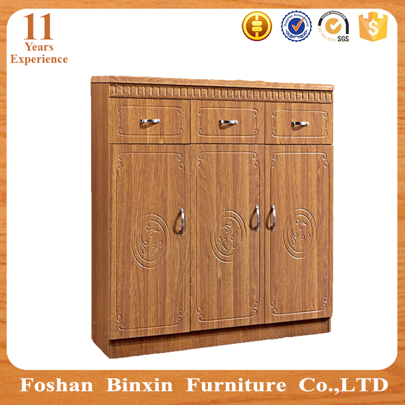 Made in china modern wooden home furniture chipboard giant shoe box
