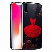 Korean Style TPU Mobile Phone Cover For iPhone X
