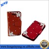 Bling Fashion Diamond Crystal Flower Back Cover Case For iphone 5 5s.