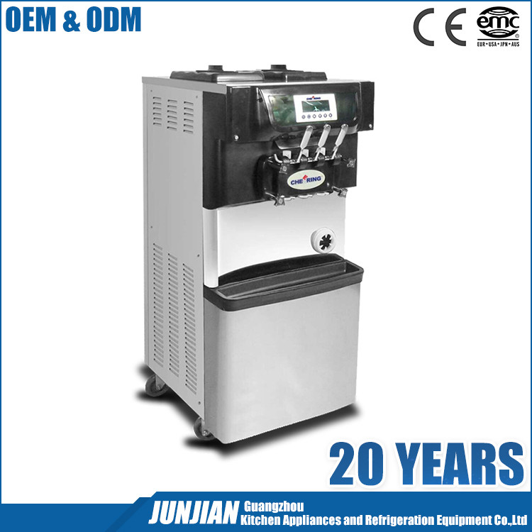 CE approved new style mini soft extrusion ice cream machine SS-BQL-308