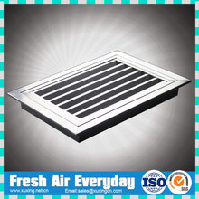 stainless steel SUS304 door hinged type return air grille with filter