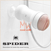 Spider The Hands Free Masturbator, Male Sex Toy,Realistic Vagina