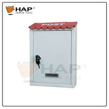Hot sale mailbox with lock mail box steel powder coated post box letter box