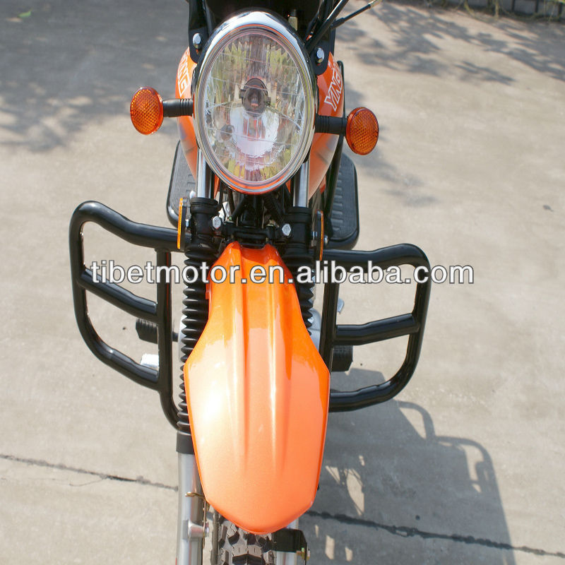 Hot selling in south america 125cc motorcycle for sale (ZF125-C)