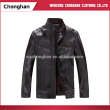 Chonghan Winter Long Type Man Leather Coat Jacket Manufacturer In Karachi