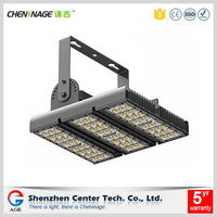 Light spot even and large lighting area led tunnel luminaire 90w