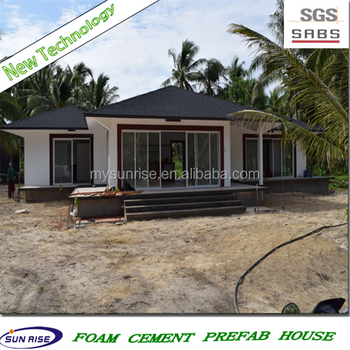 Sgs 2016 new technology low cost foam concrete for Styrofoam house cost
