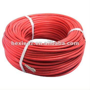8AWG Flexible Silicone Rubber Wire with Pure Copper