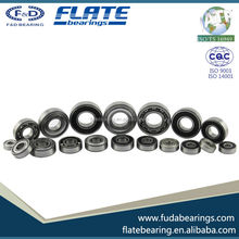 2017 Hot Sales Famous Brand Ball Transfer Bearing F&D Deep Groove Ball Bearing Rubber Seal Bearing