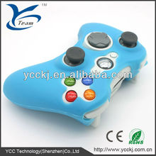 non-slip silicone cover for xbox 360 controller shell with factory price