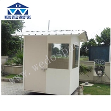 Portable Stainless Steel Security Guard hut Design