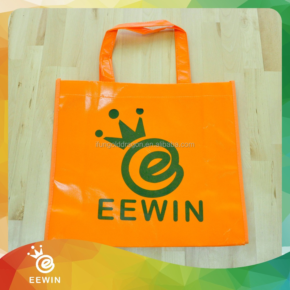 Promotional Customized Full Color ECO PP Woven Shopping Bag
