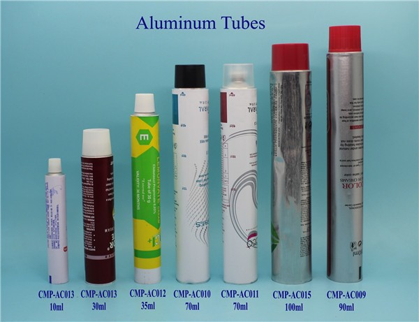 Newest factory sale collapsible Aluminum Tube cosmetics with good offer