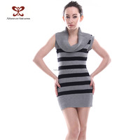 China manufacture spring autumn latest sweater designs for girls sex sleeveless women sweater