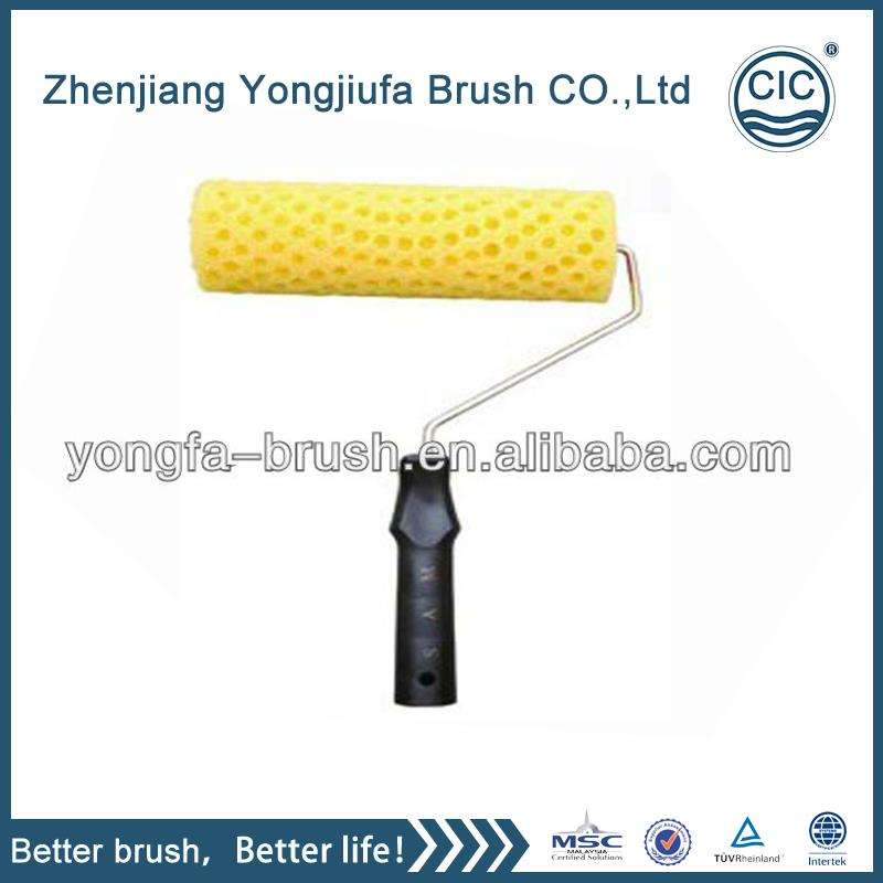 New design decorating rubber pattern paint roller with great price