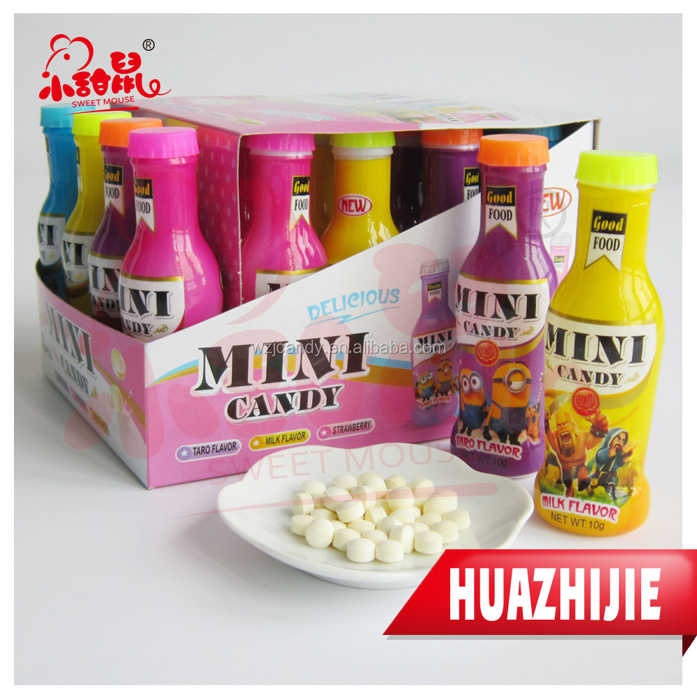 147201610 Halal Candies Cheap China Bottles Pressed Tablet Candy
