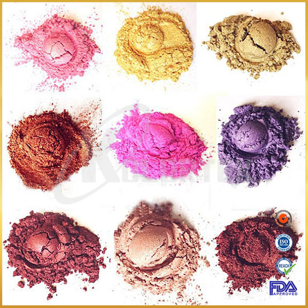 Popular pearl pigment mica powders for makeup